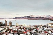 A view of Reykjavik, the capital of Iceland. Image for representative purpose. Picture courtesy: Instagram/robermabe