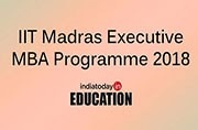 IIT Madras Executive MBA programme 2018: Apply now