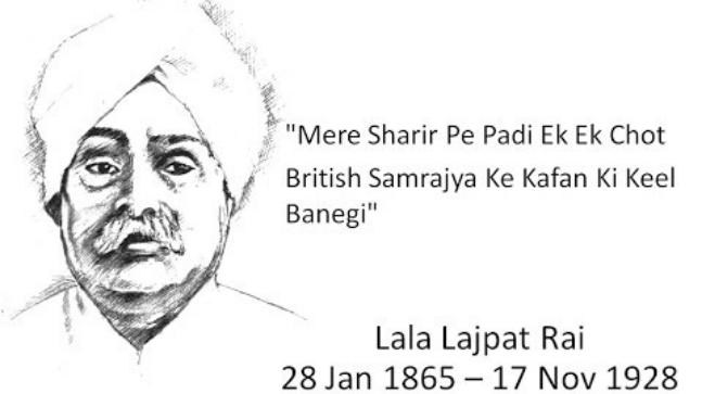 Remembering Lala Lajpat Rai Facts About The Freedom Fighter Who Was