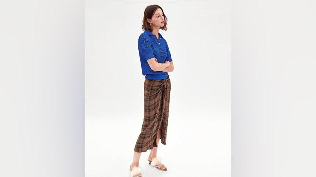 Has Zara given the traditional Indian 'lungi' a modern twist?