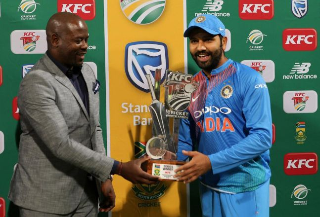 Rohit Sharma to lead India in Sri Lanka Tri-series