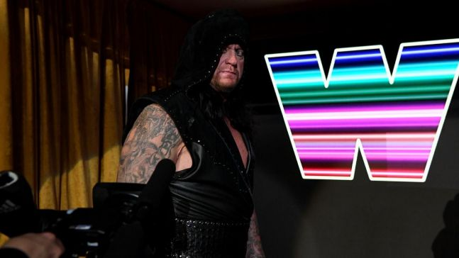 The Undertaker made an appearance at Monday Night RAW's 25th anniversary