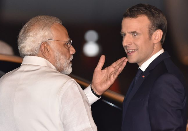 Need for more exchange between students: Emmanuel Macron