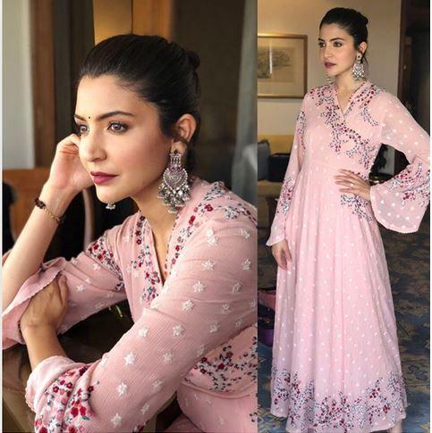 8155202b4d34 Anushka Sharma in a pink dress. Picture courtesy: Instagram/allialrufai