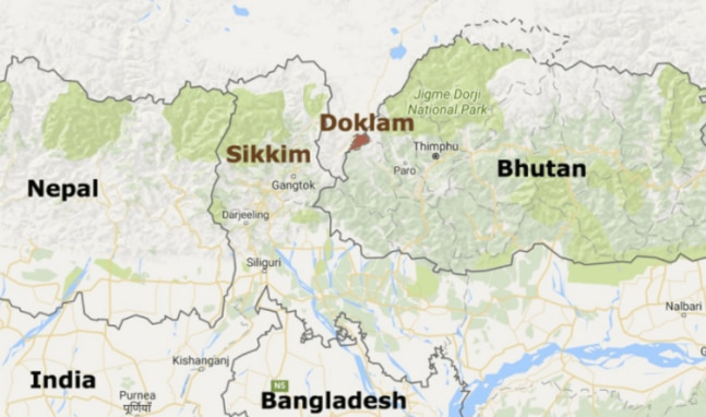 Where is Doklam and why it is important for India ...