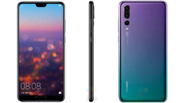 Here are the official and full Huawei P20 Pro and P20 specs