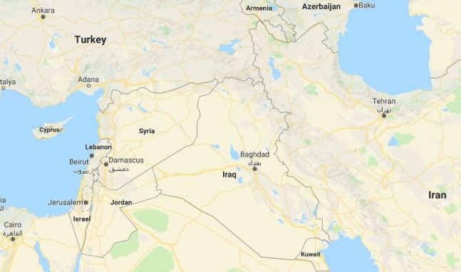 What is happening in syria education today news map of syria image google maps gumiabroncs Gallery