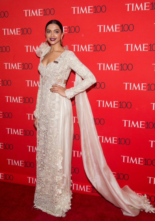 Deepika Padukone in this regal saree for TIME 100 Gala 2018 will ...
