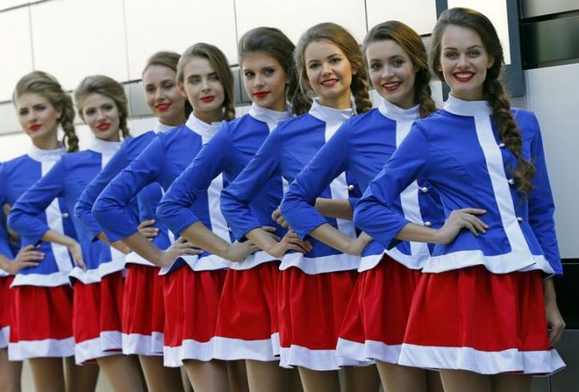 Formula One: Deputy PM wants grid girls at Russian Grand Prix
