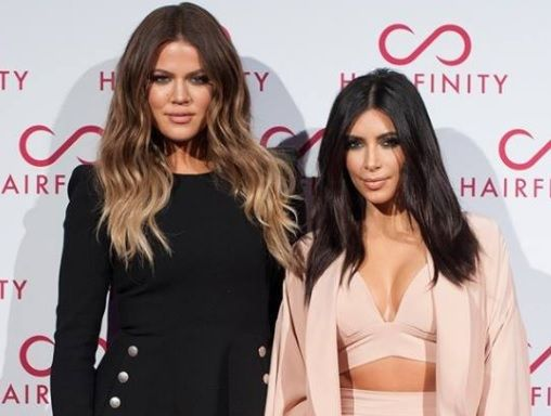 Kim Kardashian held Khloe's leg as she gave birth