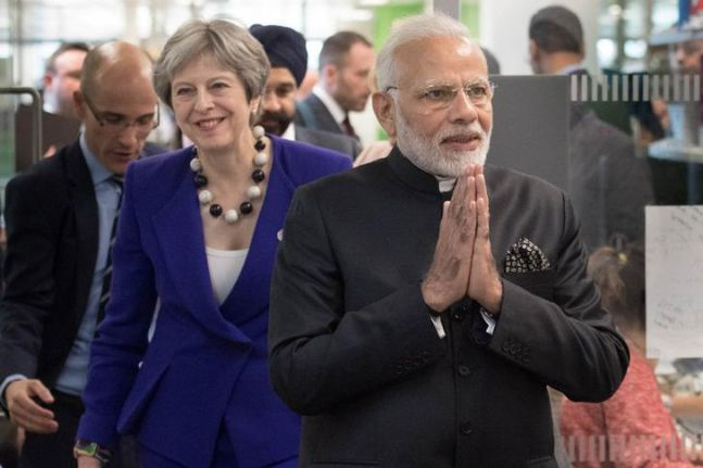 United Kingdom  tenders apology as protesters tear Indian flag at anti-Modi rally
