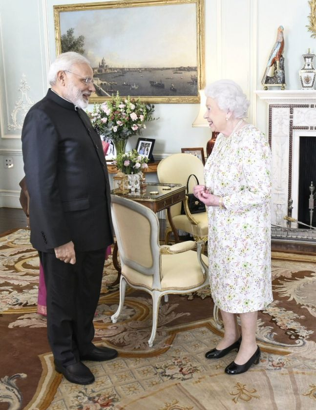United Kingdom asked to punish those who tore Indian flag during PM visit