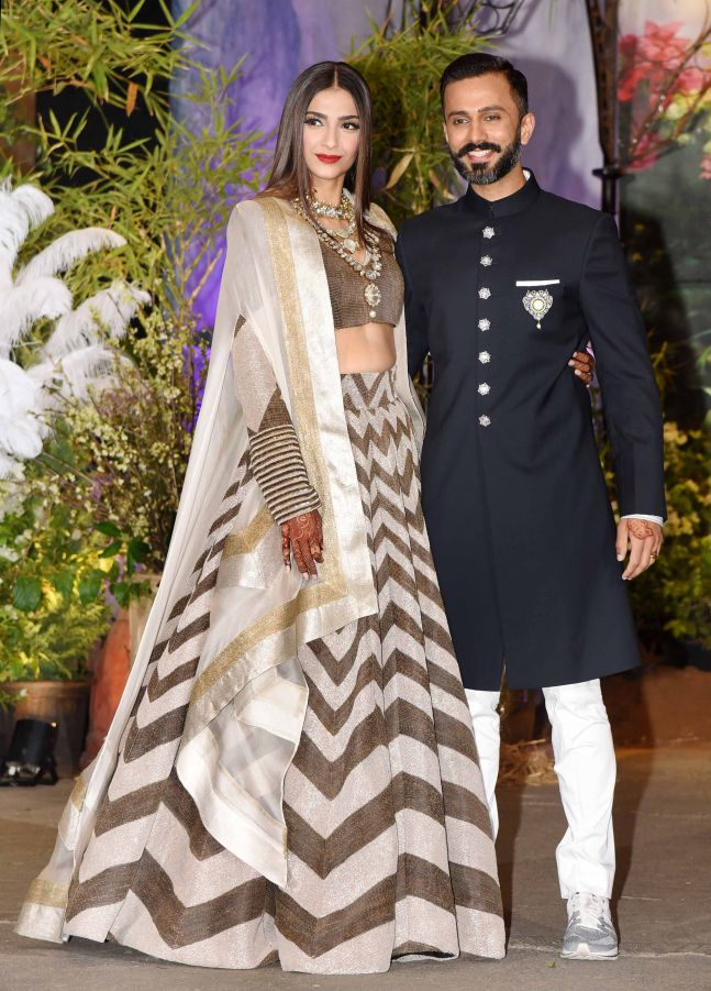 Inside Sonam Anand Wedding Reception The Mystery Behind