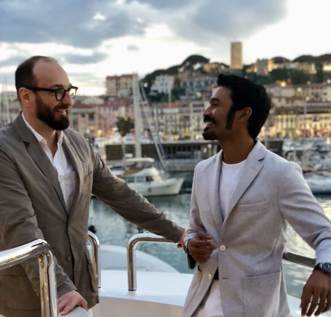 Dhanush is in Cannes