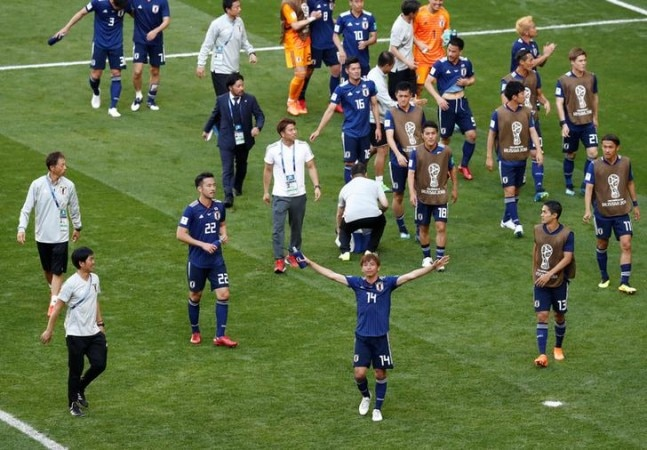 Japan beat 10-man Colombia in another World Cup upset