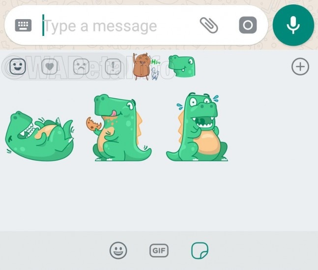 WhatsApp for Android will soon get Sticker Reactions