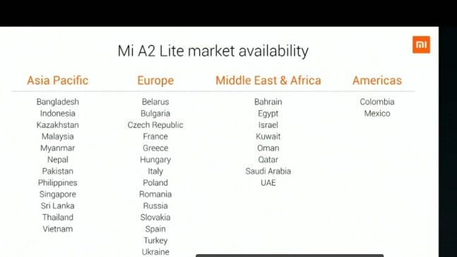 Xiaomi Mi A2 will be coming to India soon, Mi A2 Lite won't