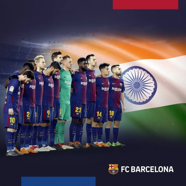 bd1686b5ebb FC Barcelona expressed their solidarity with those affected in Kerala ( FC  Barcelona photo)