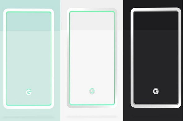 Google reveals Pixel 3 and Pixel 3 XL colors on official website