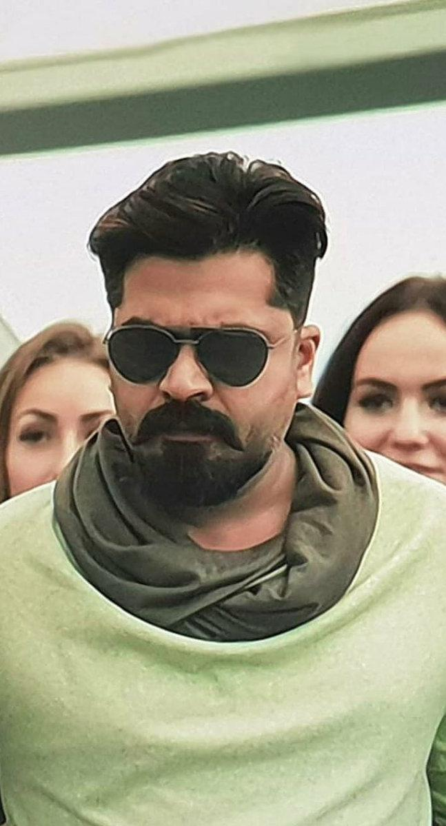 Simbu Is Suave In New Photo From Attarintiki Daredi Tamil Remake Set