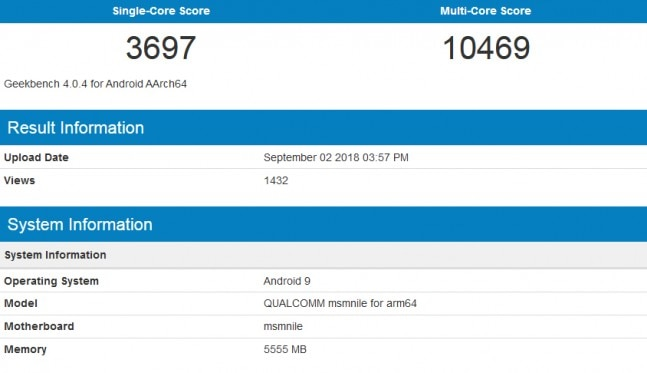 Qualcomm Snapdragon 855 benchmarked, seems as fast as CPU in