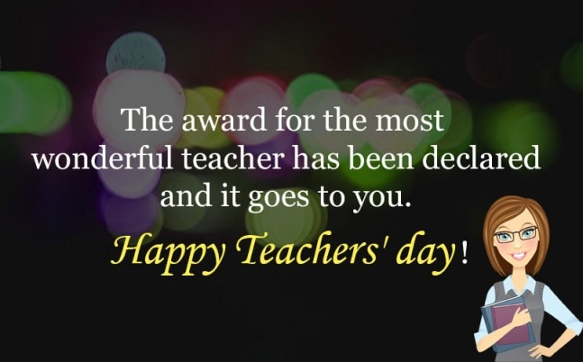 Happy Teachers Day! Check Facebook and WhatsApp statuses/messages