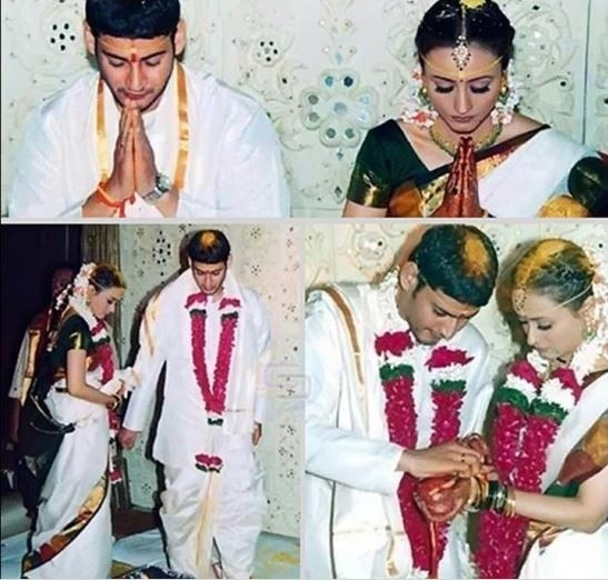 Image result for mahesh babu marriage