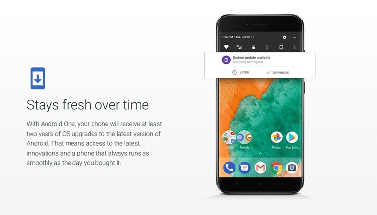 Google says no change in Android One program, phones will