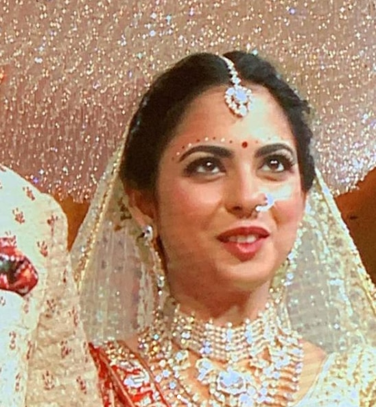 Why Do Brides Wear Garters On Their Wedding Day: Isha Ambani And Anand Piramal Are Married. First Pics Of