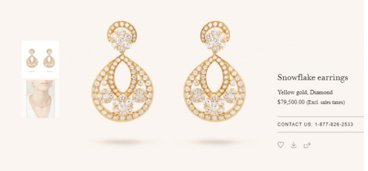 The u0027snowflake earringsu0027 that Priyanka Choprau0027s mother-in-law gifted her  sc 1 st  India Today & Priyanka Chopra got Rs 55 lakh earrings as wedding gift from mom-in ...