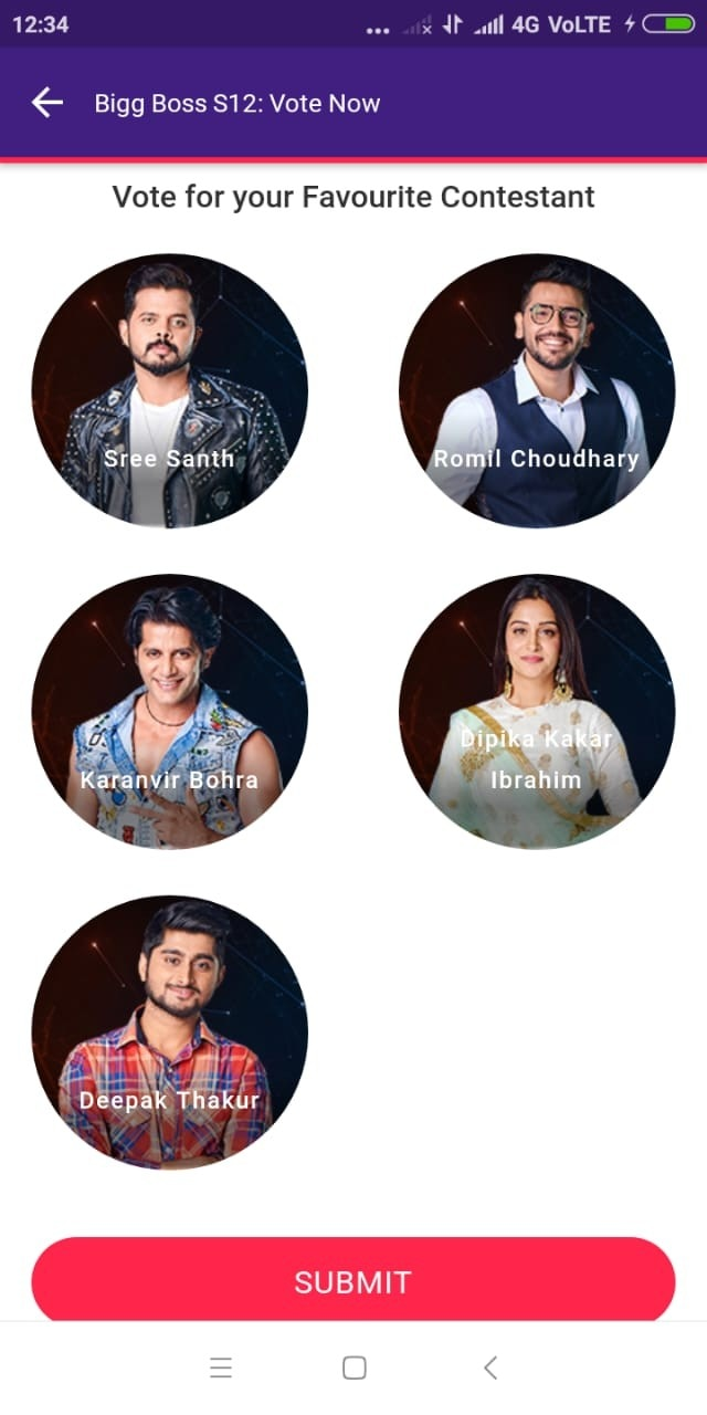 Bigg Boss 12: Here's how you can vote for your favourite contestants
