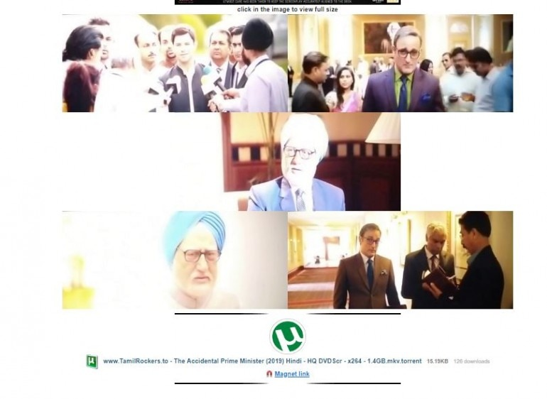 The Accidental Prime Minister full movie leaked online by