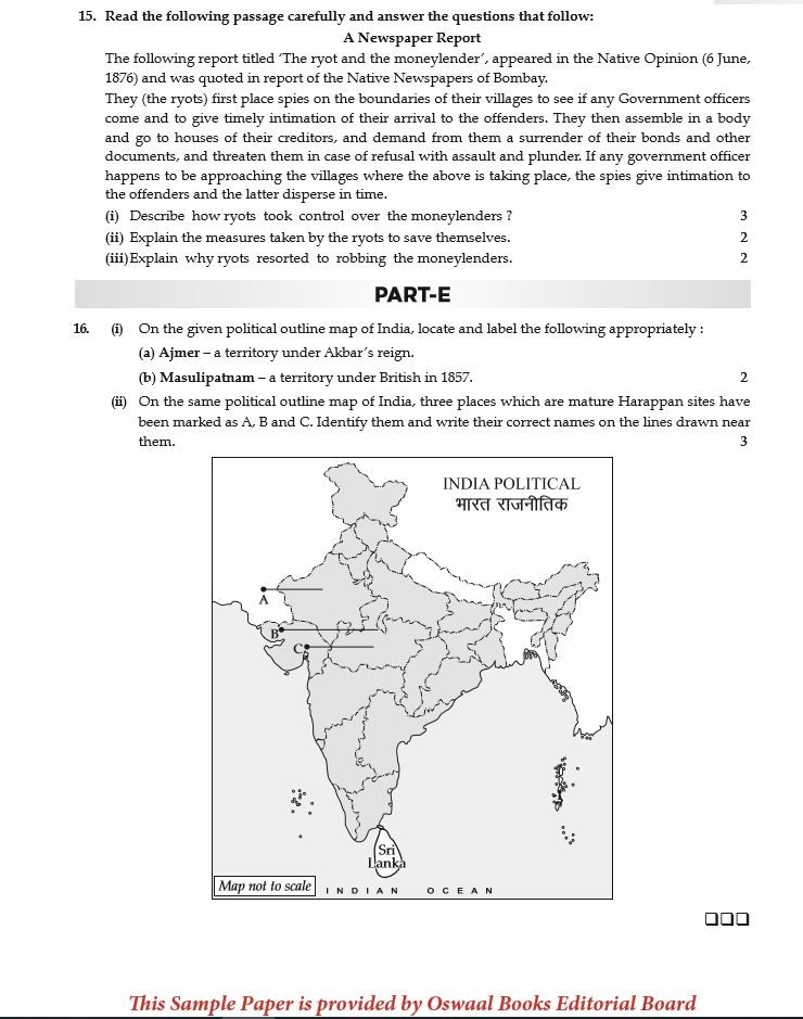 CBSE Board Exams 2019: Check Class 12 History sample paper