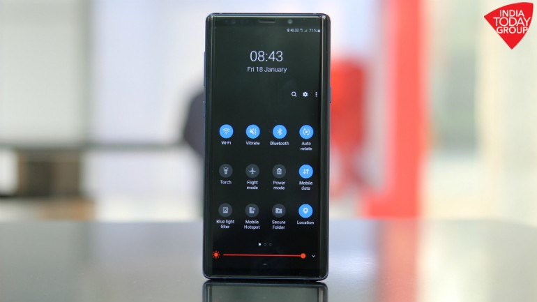Galaxy Note 9 Android Pie with One UI: Samsung makes it easier to