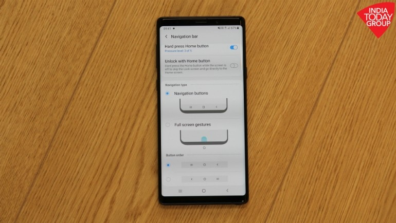 Galaxy Note 9 Android Pie with One UI: Samsung makes it