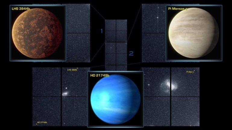 Nasa's planet-hunting spacecraft Tess discovers new planet 3 times