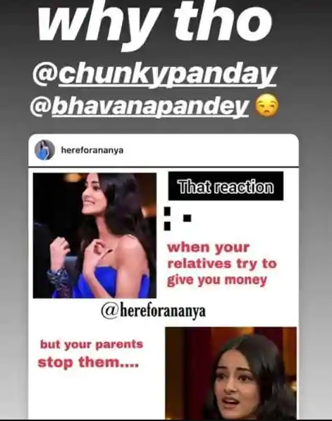 Ananya Panday is now a viral meme  But she is having more