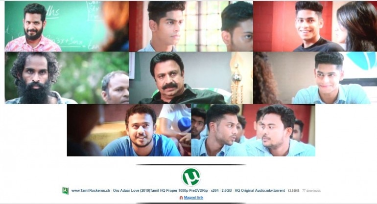 oru aadhar love full movie download in tamilrockers in tamil