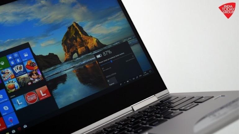 Lenovo Yoga 730-13 review: Ultra-portable, zippy performance