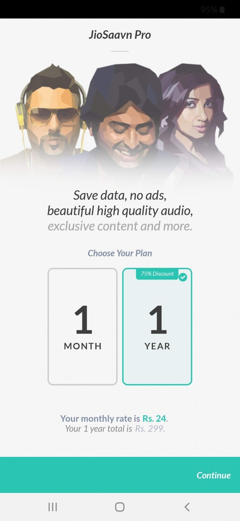 JioSaavn Pro now available with 75 per cent discount: Should