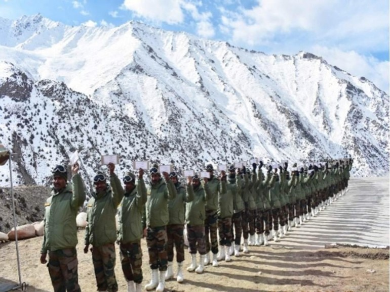 Indian Army troops deployed in Siachen, LoC cast their votes