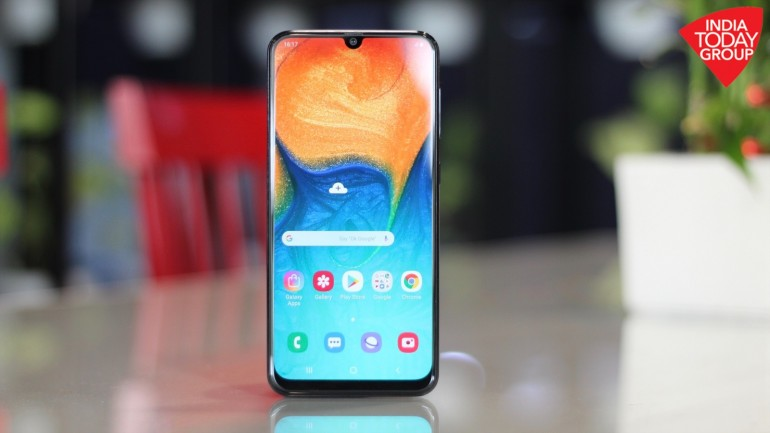 Samsung Galaxy A30 Review Sleek Design Great Display But Galaxy