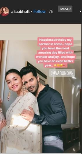 Natasha Dalal Wishes Boyfriend Varun Dhawan On 32nd Birthday Cant