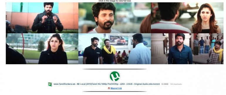 Mr Local full HD movie leaked on TamilRockers  Will it affect box