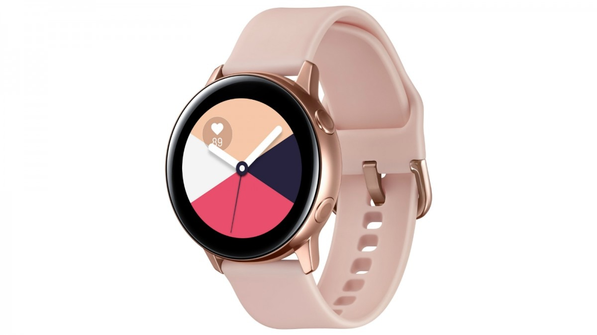 4ba9dcb47 It comes with 0.75GB memory and 4GB of internal storage. The Galaxy Watch  Active is IP68 + 5ATM rated for water resistance up to 50 meters.