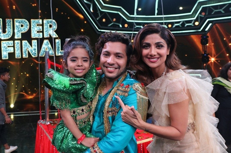 Super Dancer Chapter 3: 6-year-old Rupsa wins the show