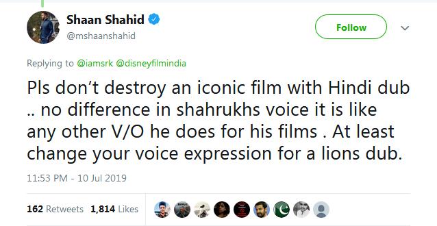 Pak actor Shaan Shahid trolls Aryan Khan's Lion King teaser but with