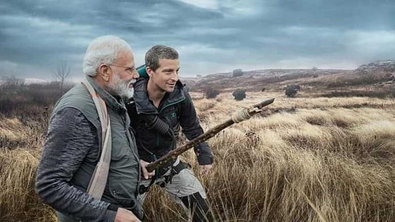PM Modi to show his adventurous side on Man Vs Wild tonight  Where