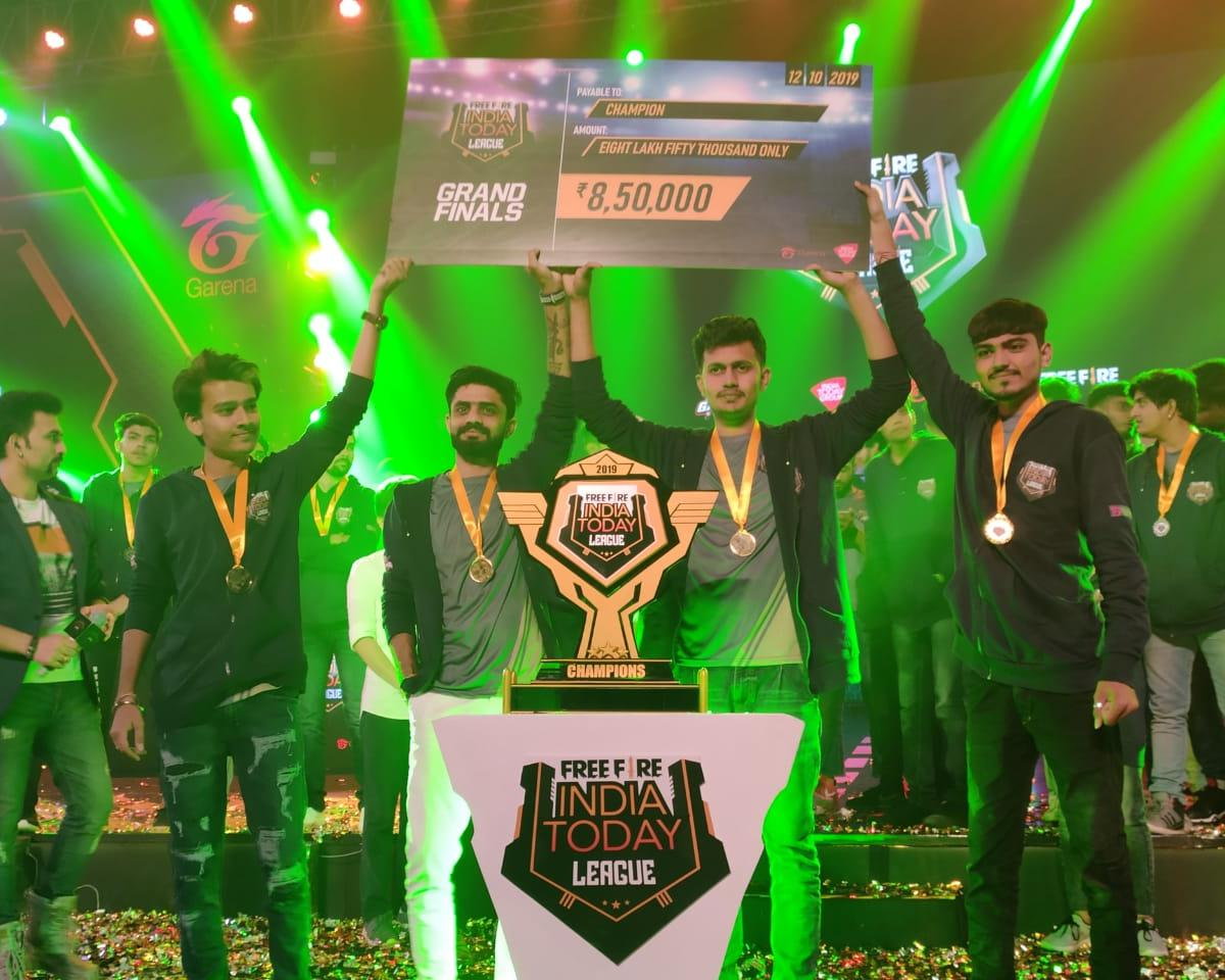 Free Fire India Today League Final Highlights Team