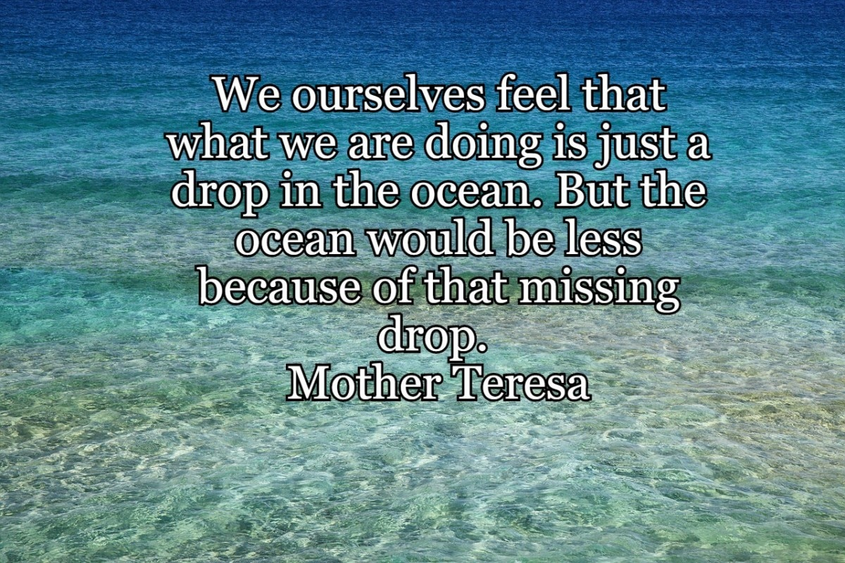 8 Inspirational quotes, messages, images related to Ocean